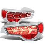 Scion FRS FT86 2013-2017 Chrome LED Tail Lights