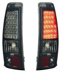 2004 Chevy Silverado 3500 Smoked LED Tail Lights