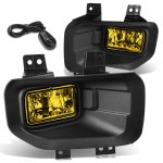 2015 Ford F150 Yellow Fog Lights Kit