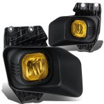 2015 Ford F550 Super Duty Yellow Fog Lights Kit