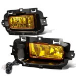 Chevy Silverado 1500 2014-2015 Yellow Fog Lights