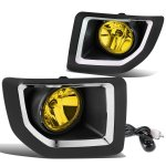 GMC Sierra 2500HD 2015-2018 Yellow Fog Lights