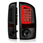2004 Dodge Ram 3500 Smoked LED Tail Lights Tube