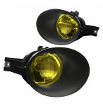 Dodge Ram 2500 2003-2009 Yellow Fog Lights with Bezel