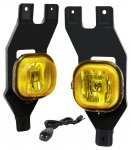 Ford F350 Super Duty 1999-2004 Yellow Fog Lights