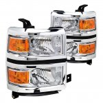 Chevy Silverado 1500 2014-2015 Headlights