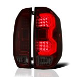 2021 Toyota Tundra Tinted LED Tail Lights Tube