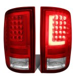 2014 Dodge Ram LED Tail Lights Red Tube