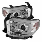 2014 Toyota Tundra LED DRL Projector Headlights