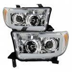 2008 Toyota Tundra LED DRL Projector Headlights