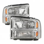 Ford F350 Super Duty 1999-2004 Headlights Conversion