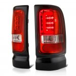 Dodge Ram 1994-2001 LED Tail Lights Red Tube