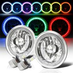 1967 Ford Mustang Color SMD LED Headlights Kit Remote