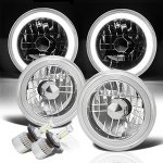 2002 Jeep Wrangler Halo Tube LED Headlights Kit