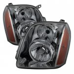 2013 GMC Yukon Smoked Headlights