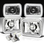 1986 GMC Safari SMD Halo LED Headlights Kit