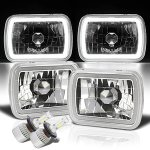 1991 GMC Safari Halo Tube LED Headlights Kit