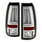 Chevy Silverado 2003-2006 Clear Tube LED Tail Lights
