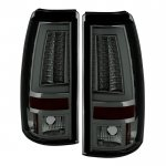 Chevy Silverado 2003-2006 Smoked Tube LED Tail Lights