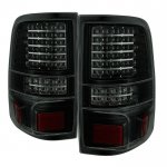 2004 Ford F150 Black Smoked Full LED Tail Lights