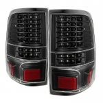 Ford F150 2004-2008 Black Full LED Tail Lights
