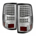 2004 Ford F150 Chrome Full LED Tail Lights