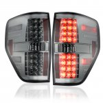 Ford F150 2009-2014 Smoked LED Tail Lights