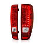 2005 Chevy Colorado Red and Clear LED Tail Lights