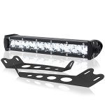 2014 Jeep Wrangler JK Hood CREE LED Light Bar with Mounting Brackets