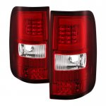 2004 Ford F150 Tube LED Tail Lights
