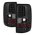 2004 Ford F150 Black Custom LED Tail Lights
