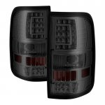 2007 Ford F150 Smoked Custom LED Tail Lights