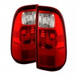 2012 Ford F250 Super Duty Tail Lights