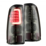 Chevy Silverado 2500HD 2003-2006 Smoked LED Tail Lights Tube