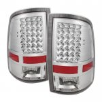 2014 Dodge Ram Chrome LED Tail Lights