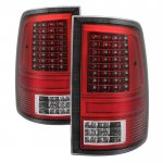 Dodge Ram 2009-2014 C-Custom Full LED Tail Lights