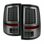 2010 Dodge Ram 3500 Smoked Full LED Tail Lights