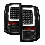 Dodge Ram 2500 2010-2018 Black LED Tail Lights Tube