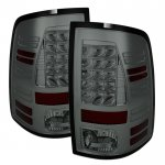 2015 Dodge Ram 2500 Smoked LED Tail Lights