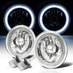 2010 Jeep Wrangler JK LED Headlights Kit SMD Halo