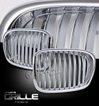 2003 BMW E39 5 Series Chrome Sport Grille