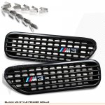 BMW 3 Series Coupe 2001-2006 Black Fender Grille