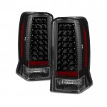 Cadillac Escalade 2002-2006 Black LED Tail Lights