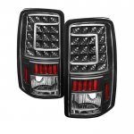 GMC Yukon XL 2000-2006 Black Custom LED Tail Lights