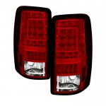 2005 Chevy Suburban Custom LED Tail Lights
