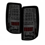 2005 Chevy Suburban Smoked Custom LED Tail Lights