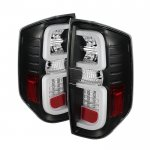 2014 Toyota Tundra Black LED Tail Lights