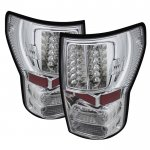 2013 Toyota Tundra Clear LED Tail Lights