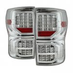 2011 Toyota Tundra Clear Full LED Tail Lights