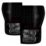 Toyota Tundra 2007-2013 Black Smoked LED Tail Lights